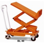 Table elevatrice inclinable - 400kg