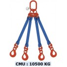 Elingue sangle 4 brins -10500kg