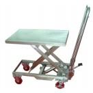 Table élévatrice inox - Capacité 100kg