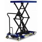 Table élévatrice manuelle surbaissée - Capacité 300kg