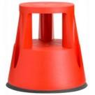 Marche pied polypropylène - Couleur rouge  - Capacité 150kg