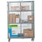 Roll conteneur équipé de 2 portes - 500 kg