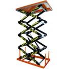 Table élévatrice électrique à 4 ciseaux - 400 kg
