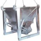 Benne à béton en aluminium
