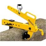 Pince pour blocs de pierre - 250 à 500kg - prise réglable de 0 à 240mm