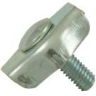 Serre-câble plat - 1 boulon - 6mm