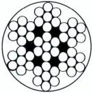 Câble PVC 7 torons de 7 fils - 3 mm