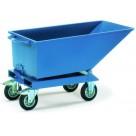Benne basculante roulante 250 à 800 litres