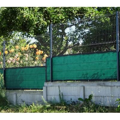 filet brise vue sur mesures muni d 39 une bande en pvc et de couleur vert fonc. Black Bedroom Furniture Sets. Home Design Ideas