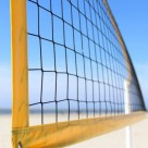 Filet de volley-ball - mailles câblées nouées - 2.2mm