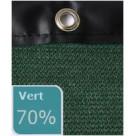 Filet brise-vue 70% occultation avec bande pvc
