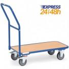 Chariot de magasin 250 kg - Livraison express