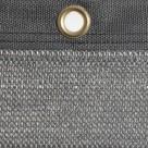 Filet brise-vue gris anthracite 100% occultation