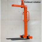 Lève-palette réglable à anneau coulissant pour rotator