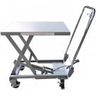 Table elevatrice aluminium