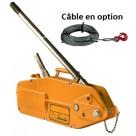 """Treuil à câble passant """"gripper"""""""