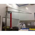 Potencette sur fût porte-outils inox - 50 à 100kg