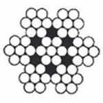 Câble inox 7 torons de 7 fils