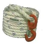 Corde à poulie polypropylène avec crochet